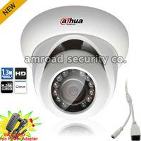 1.3 Megapixel CMOS Full HD 720P ONVIF POE Dahua 1.3Mp Network IR Dome Camera IP Camera (AC Power Adapter Included) IPC-HDW2100