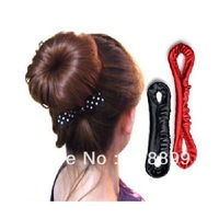 20pcs Magic Ribbon Hair Bud Bun Style Maker Band Hair Beauty Tool