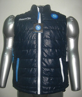 Season macron jersey napoli vest cold thermal cotton-padded