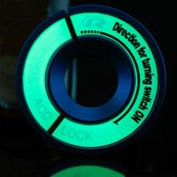 Volkswagen lavida polo pullo suitcase belt luminous bora ignition ring key hole decoration refires
