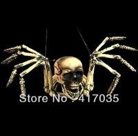 1Pcs Free shipping Halloween Halloween products KTV haunted house is decorated props terrorist skeleton skeleton demon octopus