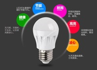 High brightness LED Bulb Lamp E27 3W AC220V Cold white/warm white