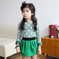 Ilovej children's clothing 2013 child bag skirt bust skirt short skirt jlfbo26