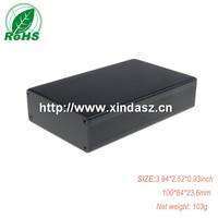 XDM05-27 aluminum extrusion box aluminum enclosure 100*64*23.6mm 3.94*2.52*0.93inch