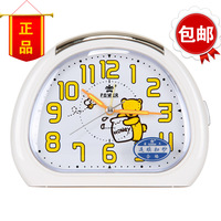 Overlooks watches and clocks lounged cartoon at home child mute luminous alarm clock bell+free shipping!