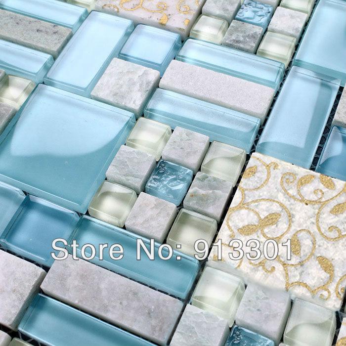 Iridescent ceramic tile