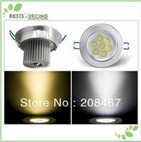 5pcs/lot  3W/5W/7W  Led Lighting Ceiling Light Downlight AC85-265V Warm /Cool  White Lighting Lamp Free Shipping