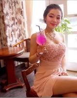 Pink Rose Handmade Fashion Womens Ladies Girls Strapless Cute Sweet Prom Chiffon Tee Dress, Free & Drop Shipping