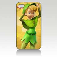 For iPhone 4 4S iphone 5 case Tinkerbell Fairies ZC0829 Soft TPU phone cover Wholesale Retail