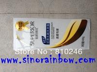 Custom printed shampoo labels transparent labels