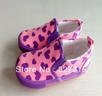 2013 Autumn New Arrival fashion girls pink canvas shoes, kids shoes wholesale and retail