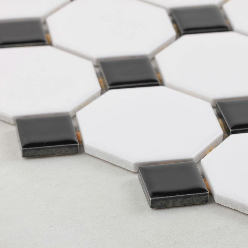 Online kopen wholesale witte octagon tegel uit china witte octagon tegel groothandel - Porselein vloeren ...