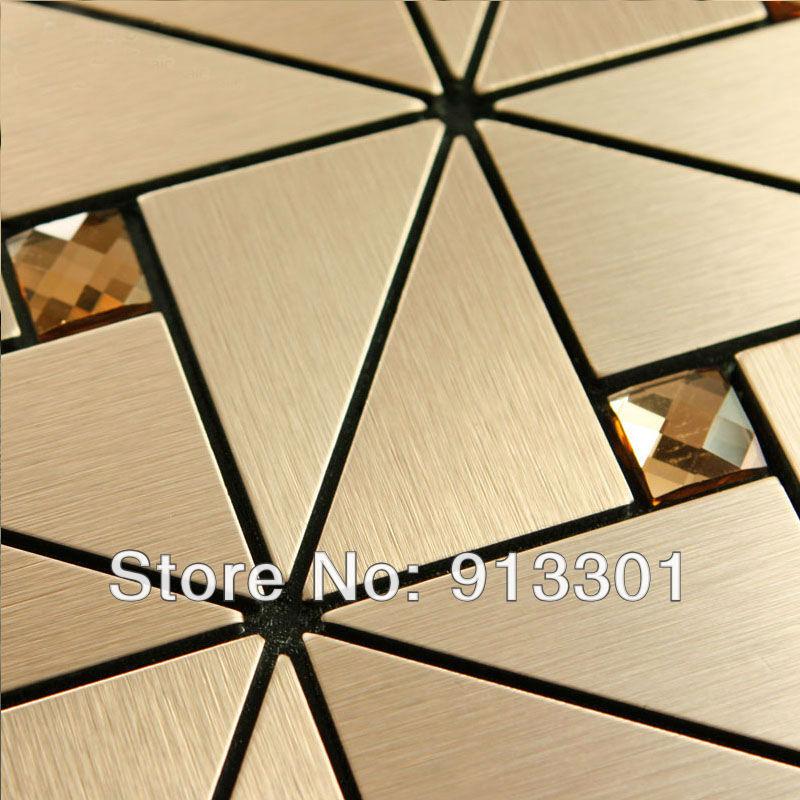 Metal Floor Tiles Metal Mosaic Tile Deco Mesh