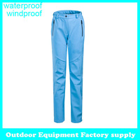 2014 fleece outdoor pants windproof travelling climbing sport trousers winter soft shell hiking waterproof snow pants women