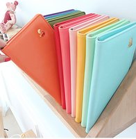 Minibus candy color elegant fresh long design passport holder testificate set 10