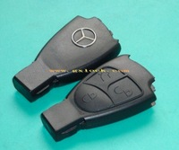 High quality  DHL free shipping Remote Key blank Case for Benz Mercedes Class 3 Button&key shell