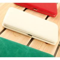 2014 Hot sell quality Pu leather women's wallet carteira feminina long design candy purse card holder women handbags