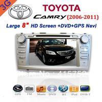 2 Din Dvd Player for Toyota New Camry with Gps/tv/bluetooth/ipod/radio/sd/usb/radio(2006-2011)