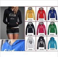 2013 new autumn -summer winter cardigan women's hoodies Letter Sports sweatshirt