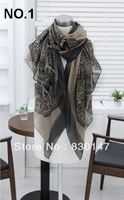 Free Shipping!!! 2013 Wholesale Handmade And Factory Directly Sale Pashmina Fashion Scarf Designer, Scarf For Women