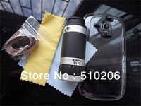 8X Optical Zoom Telescope Camera Lens With Cover Case for Samsung Galaxy S3 Mini i8190 ,+retail package MOQ:1PCS free shipping