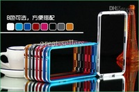 Wholesale - 20 Dual color Metal Aluminum Frame Bumper Case For Samsung Galaxy Note 3 SM-N9000