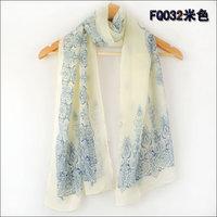 hot women winter scarf fashion style silk scarf polka velvet scarf chiffon Bohemia Scarf free shipping (SC052)