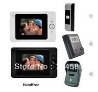 Wholesale Video Door Phone Intercom - 4 Inch Color LCD Doorbell Monitor & Color CMOS Outdoor Camera for Villa