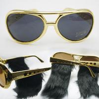 Elvis veerlive party glasses large sunglasses sun glasses sunglasses dual personality party supplies
