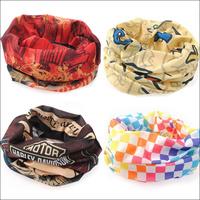 Outdoor seamless magicaf magic bandanas elastic quick-drying ride muffler scarf collars wigs