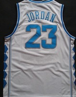 Free Shipping, Retail& Wholesales NCAA College Basketball Jersey North Carolina Tar Heels #23 Michael Jordan  Basketball Jersey