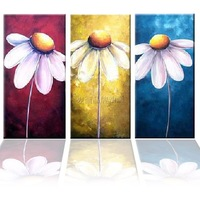 Pure hand painting oil painting modern decorative painting picture frame entranceway mural trippings paintings flower m1001