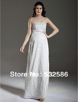 Exempt postage 2013 new  sweetheart  crepee Nail bead  pleated caught  caught  Zipper style Pregnant women dress