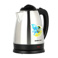 Grelide wwk-1805s kettle stainless steel electric heating kettle 1.8l