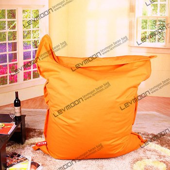FREE SHIPPING 140*180CM orange bean bag cover 100% cotton bean bag sofa living room bean bag chair wholesale and retail