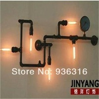 Water pipe wall lamp lamps personality aisle lights