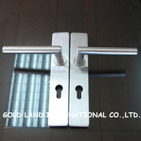 Free shipping 2pcs/pair 304 stainless steel  wood door handle
