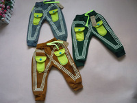 brand new retail simple geometric kids children winter autumn trousers kid leisure pants 2014 KP074R