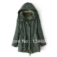 2013 new style plus size coats/coats & jackets/womens winter coats/MANDU