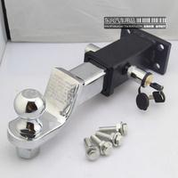Free shipping Trailer hook trailer arm trailer car connector 4wd refires black silver