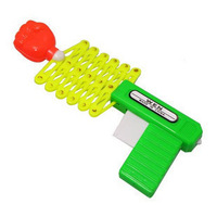 5pcs Retractable gun magic gun funny toys novelty birthday gift