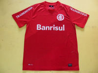 2013-2014 Sport Club Internacional Home Jersey-Red