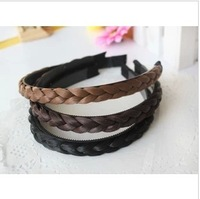 New style Accessories wig knitted twisted braid hair bands female hair accessory hair accessory accessories  free shipping