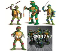 4 pcs TMNT Teenage Mutant Ninja Turtles 88 Classic Collection Movable Joints Action figures Set