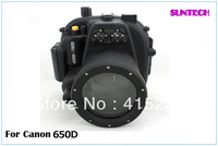 2013 Latest NEWS Diving Housing Resistant 40M Underwater case Camera Waterproof case for canon 650D, 700D