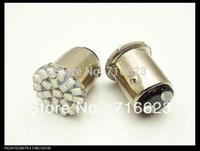 10pcs/lot 1157 Bay15d 3020 1206 22 SMD LED Car Stop/Brake Rear/Tail Light Lamp Bulbs free shipping High quality