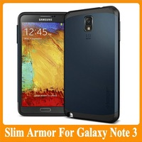 MOQ:1PCS SLIM ARMOR SPIGEN SGP Case Cover for Samsung Galaxy Note III 3 Note3 N9000 N9002 N9005 N9006