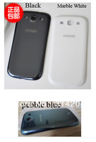(DHL EMS Free) 100% Top Quality Guarantee for Samsung i9300 Galaxy S3 Battery Back Cover Housing Black White (50PCS/Lot)