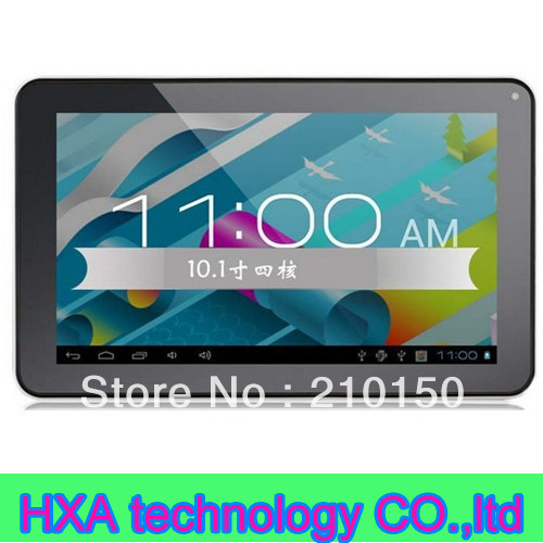 10.1 inch action ATM7029 Quad core android4.1 1g+16g dual camera OTG speaker 1024*600 tablet pc(China (Mainland))