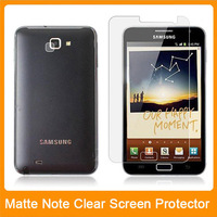 Matte Anti-Glare Anti Glare LCD Screen Protector Guard Cover Film For Samsung Galaxy Note i9220 Free Clear Cloth 20pcs/lot